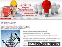 Miniaturka domeny www.elektryk-krakow.com