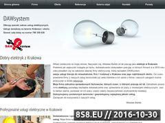Miniaturka domeny www.elektryk-krakow.pl