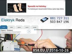 Miniaturka domeny elektryk-reda.cba.pl