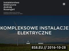 Miniaturka domeny elektryk-reda.pl