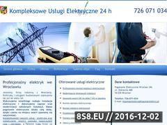 Miniaturka domeny www.elektryk-wroclaw.pl