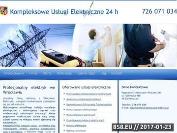 Zrzut strony Marad Instal - elektrycy z Wrocławia