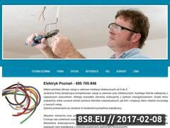 Miniaturka domeny www.elektryk.w.poznaniu.pl