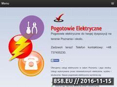 Miniaturka domeny elektrykpogotowie.pl