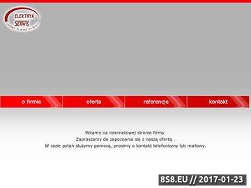 Zrzut strony Elektryk Serwis - elektryk Katowice
