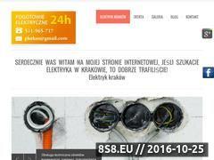 Miniaturka domeny www.elektrykwkrakowie.com.pl