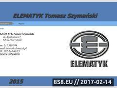 Miniaturka domeny www.elematyk.pl