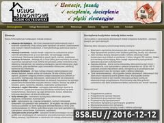 Miniaturka domeny www.elewacje-ostrowski.pl