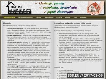 Zrzut strony Elewacje Dąbrowa Górnicza