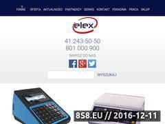 Miniaturka Kasy fiskalne i wagi elektroniczne (www.elex.pl)