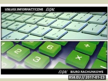 Zrzut strony ELGAL - Biuro Rachunkowe Lublin