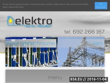 Zrzut strony Projektowanie instalacji elektrycznych