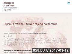 Thumbnail of Zdjecia na porcelanie - fotoceramika na nagrobki Website
