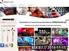 Miniaturka domeny www.elite-music.pl