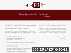 Miniaturka domeny elite-pr.pl