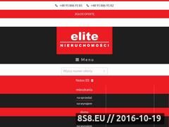 Miniaturka domeny www.elite.nieruchomosci.pl