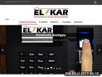 Zrzut strony F.U.H Elkar - Monitoring