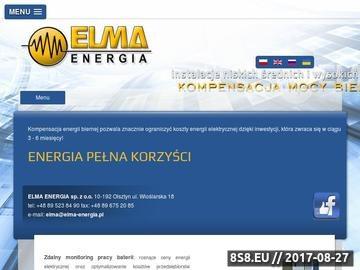 Zrzut strony Kompresja mocy biernej Elma-Energia