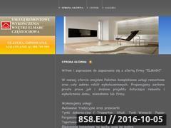 Miniaturka domeny www.elmarc-remonty.pl