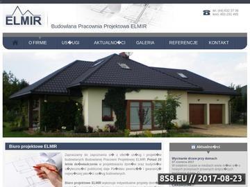 Zrzut strony Biuro projektowe Zelów