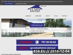 Miniaturka domeny www.elmis-invest.pl