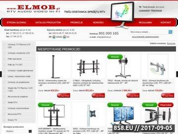 Zrzut strony ELMOB - ekskluzywne stoliki RTV