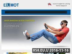 Miniaturka domeny www.elmot.pl