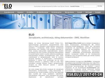 Zrzut strony DMS