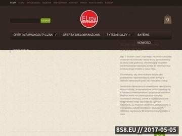 Zrzut strony Elroy.pl - internetowy katalog