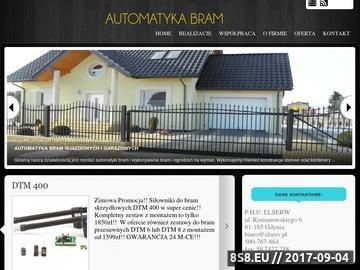 Zrzut strony Szlabany Gdańsk i napędy do bram Bojano