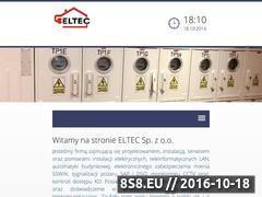 Miniaturka domeny www.eltec.com.pl