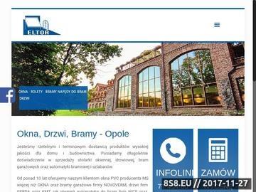 Zrzut strony Okna Opole