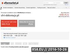 Miniaturka domeny elvi-dekoracje.pl