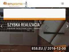 Miniaturka domeny www.em-promo.pl