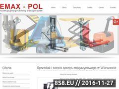 Miniaturka domeny www.emaxpol.pl