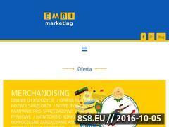 Miniaturka domeny www.embi-marketing.pl