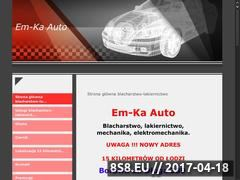Miniaturka domeny www.emka.auto.pl