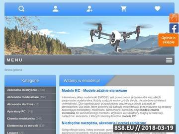 Zrzut strony Modele RC