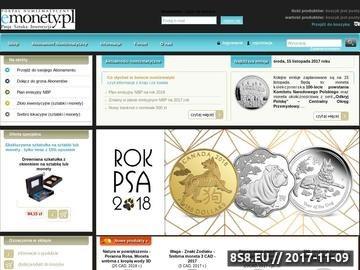 Zrzut strony Sklep numizmatyczny