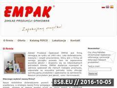 Miniaturka domeny www.empak.kalisz.pl