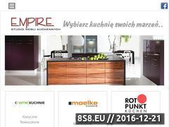 Miniaturka domeny www.empire-kuchnie.pl