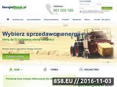 Miniaturka domeny energiadirect.pl