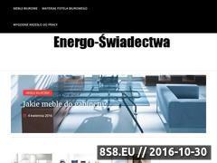 Miniaturka domeny www.energo-swiadectwa.pl