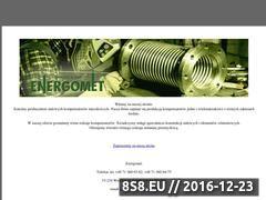 Miniaturka domeny www.energomet.com.pl