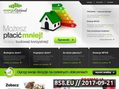 Miniaturka domeny www.energooptimal.pl