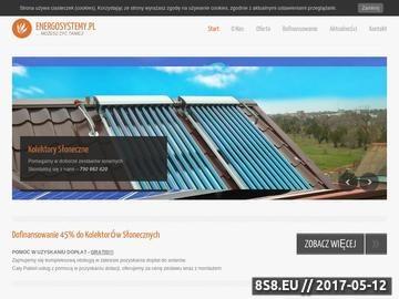 Zrzut strony EnergoSystemy - Fotowoltaika, Solary, Pompy Ciepła