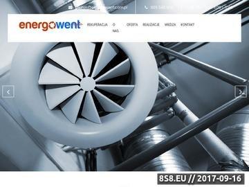 Zrzut strony Energowent - wentylacja pomieszczeń