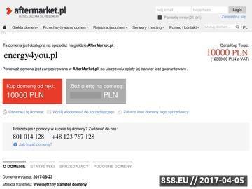 Zrzut strony Akcesoria go pro - energy4you.pl