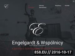 Miniaturka domeny www.engelgardt.pl