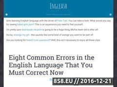 Miniaturka domeny engleash.net